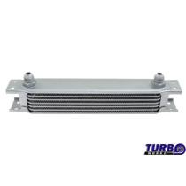 Olajhűtő TurboWorks 7-soros 260x50x50 AN8 Ezüst